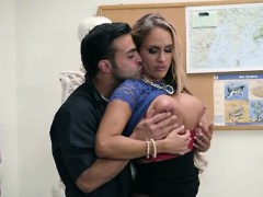 Teacher Tegan James Gets Her Cunt Poked By Janitor