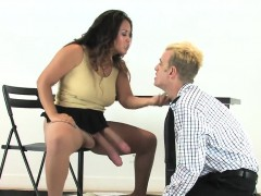 Chicks Shag Fellows Anal With Huge Strap-ons And Burst Semen