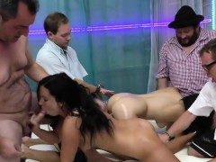 German Lederhosen Gangbang Party Audry From Dates25com