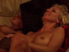 big titted swinger chicks gets pussies licked in reality