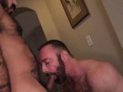 Daddies Alessio Romero And Brad Kalvo Railing Hard At Home
