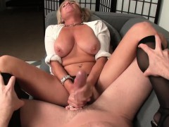 bigtitted-cougar-jerking-off-lucky-dude