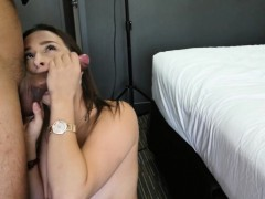 Busty Teen Fucks In Various Poses At Casting