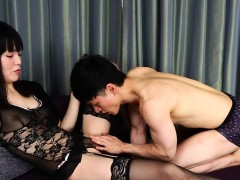 Japanese Lingerie Newhalf Railed In Tight Ass