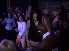 Seductive Lassies Have Fun In The Club