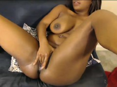 black pussy and monster dangling boobs