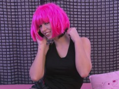 neon-pink-haired-beauty-rubs-her-wet-pussy