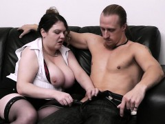 wife-finds-busty-bitch-riding-his-massive-rod