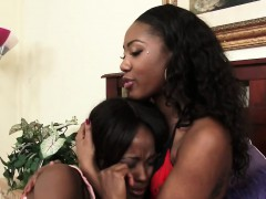 Lesbians Chanell And Jezabel Enjoy Using Strapon