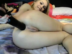 Chubby Amateur Girlfriend Anal With Huge Facial