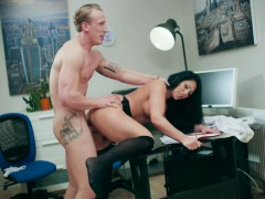 Candi Kayne Her Dads Office Boy Fuck