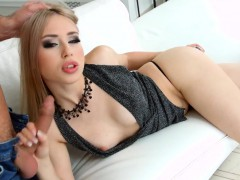 Gonzo creampie scene with Alana Moon by All internal