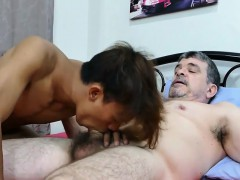 Young Asian Tight Ass Is Stiffed With Daddys Hard Package