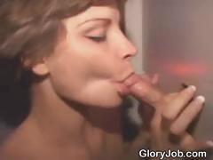 short-haired-brunette-dirtbag-sucks-dick-at-glory-hole