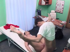 Dark Haired Patient Sucks And Fucks