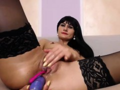luxury-tiny-tits-slut-uses-a-dildo-on-her-sexy-ass