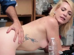Blonde Whore Is Having An Orgasm From A Fuck