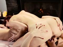 massaged-redhead-fingered
