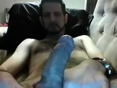 Boring Masturbation Video Of A Hairy Man