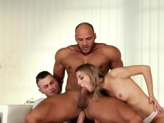 Bisex Muscled Dude Rides