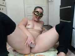chubby amateur milf sarah janes outdoor masturbation