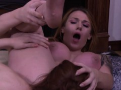 Redhead Shemale Anal Fucked By A Slender Shemales Hard Cock