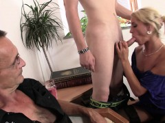 old-man-calls-him-to-fuck-his-young-blonde-wife