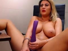 excited-shaved-plays-with-her-pussy-and-squirts