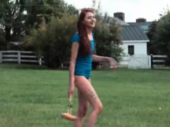 Teen Ftvgirls Courtney At A Farm Shes A Cute And Spirited