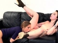 Female Agent Alessa Savage Hot Strap On Fuck