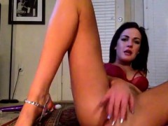 Lovely Brunette Get An Anal Drilling On Livecam