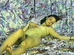 Great Vintage Porn With Curly Bitch And Some Jerk