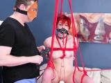 Extreme male bondage xxx Analmal Training