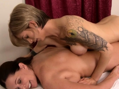 Massage Shemale Gave Pleasure To A Mature Female Client