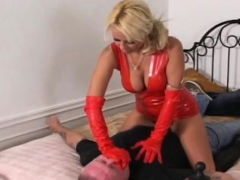 girls dominating a guy by smothering him with their booties