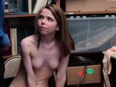 Hot Petite Alina West Rides Cock Into Freedom