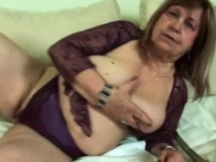 Chubby Granny Gets Banged By Neighbor