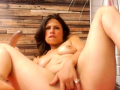 True Latina Squirting A Bit Crazy And Charming