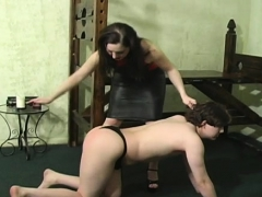 Muffled Bitch Gets S&m Treatment On Her Nice Love Tunnel