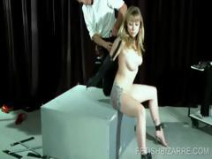 tortured-babe-being-cunt-nailed