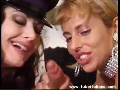 Jessica Rizzo Threesome And Lesbian