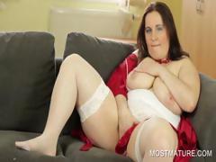stockinged-mommy-showing-big-boobs