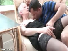 Horny Mature Woman Gets Her Pussy Part3