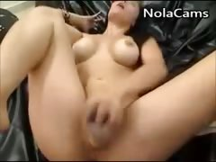 Nice Firm Ass And Squirting Pussy
