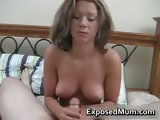 Titty a hard cock with KY jelly part3