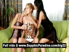 amazing-brunette-and-blonde-lesbians-fingering-and-licking