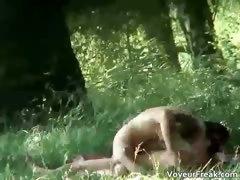 A Couple Up The Park Voyeur Webcam Clip Part3