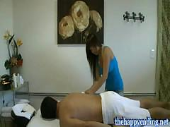 Hidden Camera In Asian Massage Parlor