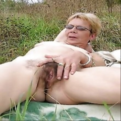 housewives playing with their hairy pussies - N
