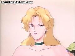 Cute Anime Redhead Bondage Queen Kate Part4